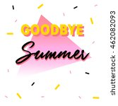 """goodbye summer"" gift card on... 