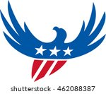 illustration of an american... | Shutterstock .eps vector #462088387