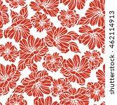 flower illustration pattern | Shutterstock .eps vector #462114913