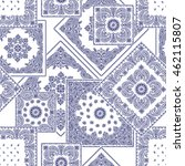 bandanna pattern design | Shutterstock .eps vector #462115807