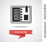 note icon | Shutterstock .eps vector #462131863