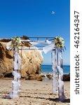 Wedding Altar In Malibu  Ca