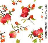 seamless floral pattern.... | Shutterstock .eps vector #462247633