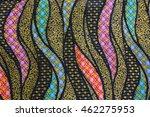 batik fabric pattern   Shutterstock . vector #462275953
