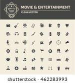 media icon entertainment icon...   Shutterstock .eps vector #462283993