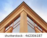 the angle of the top of the... | Shutterstock . vector #462306187