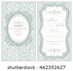 wedding invitation cards ... | Shutterstock .eps vector #462352627
