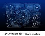 media business background .... | Shutterstock . vector #462366337