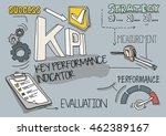 kpi   key performance indicator ... | Shutterstock .eps vector #462389167