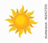 sun vector illustration | Shutterstock .eps vector #462417253