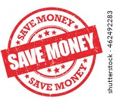 save money vector stamp. grunge ... | Shutterstock .eps vector #462492283