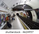 London Subway Station.