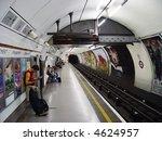 London Subway Station.