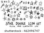 Star Doodles  Hand Drawn Vecto...