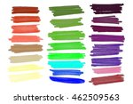 vector lanes drawn with colored ... | Shutterstock .eps vector #462509563