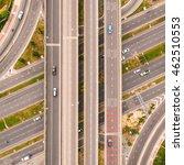 aerial view of highway... | Shutterstock . vector #462510553