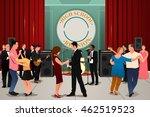 a vector illustration of school ... | Shutterstock .eps vector #462519523
