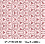 seamless pattern of repeating... | Shutterstock .eps vector #462528883