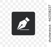 icon pen trace of him.   Shutterstock .eps vector #462538237
