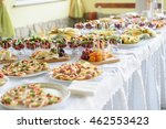 catering and banquet wedding... | Shutterstock . vector #462553423
