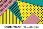 black and white pop art... | Shutterstock .eps vector #462608353