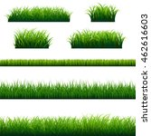 green grass frame big set ... | Shutterstock .eps vector #462616603