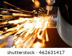 drill with diamond tipped... | Shutterstock . vector #462631417