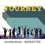 business people achievement... | Shutterstock . vector #462641743