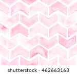 Chevron Of Light Pink Color On...