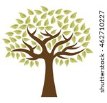 tree ecology symbol icon vector ... | Shutterstock .eps vector #462710227