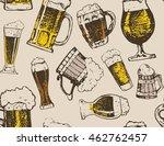 october fest. vector beer... | Shutterstock .eps vector #462762457