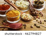 an aromatic colorful spicy... | Shutterstock . vector #462794827