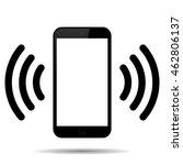 mobile phone.  mobile... | Shutterstock . vector #462806137