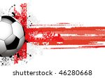 Soccer Ball Banner With Englis...
