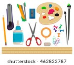 vector illustration of set of... | Shutterstock .eps vector #462822787