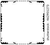 vector ornamental decorative... | Shutterstock .eps vector #462901273