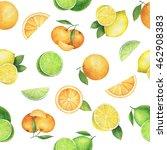 watercolor seamless pattern... | Shutterstock . vector #462908383