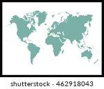 world map | Shutterstock .eps vector #462918043