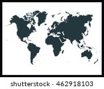 world map | Shutterstock .eps vector #462918103