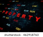 business concept  pixelated red ... | Shutterstock . vector #462918763
