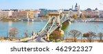 landmark of budapest  szechenyi ... | Shutterstock . vector #462922327