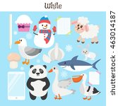 white. learn the color....   Shutterstock .eps vector #463014187