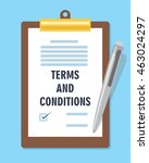 terms and condition agreement...