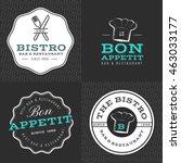 set of badges  banner  labels... | Shutterstock .eps vector #463033177