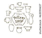 Ceramic Ware  Cups  Jars ...