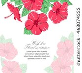 Invitation Floral Background....