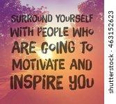inspirational typographic quote ...   Shutterstock . vector #463152623