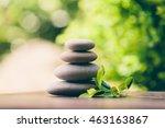 Balancing Zen Pebble Stones...
