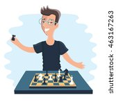 vector illustration of cartoon...   Shutterstock .eps vector #463167263