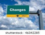 green highway billboard the... | Shutterstock . vector #46342285